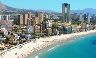 Alicante to Benidorm airport transfer